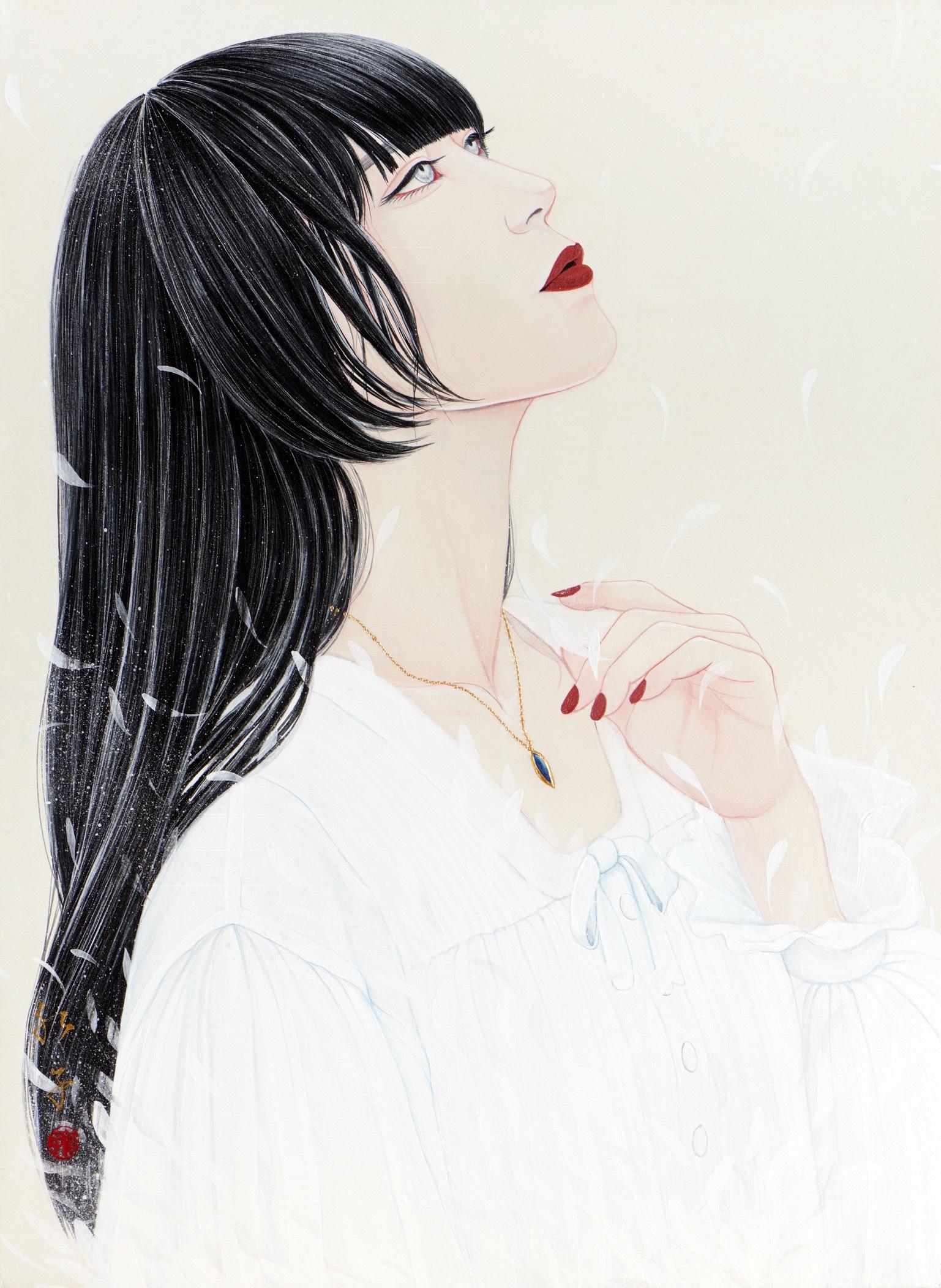 【日本画家】丁子紅子